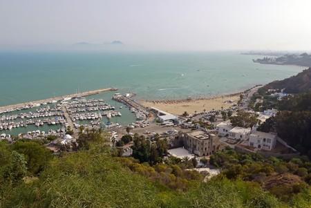 Sidi Bou Said, TUNISIA. Stock Photo