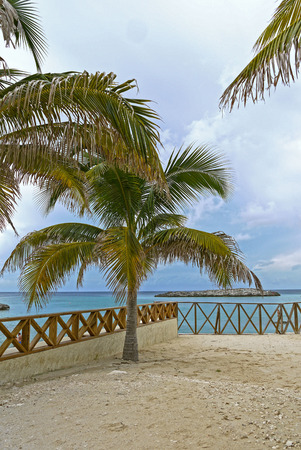 cay: Great Stirrup Cay, BAHAMAS. Stock Photo