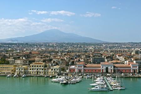 카타니아, 시칠리아. 이탈리아.
