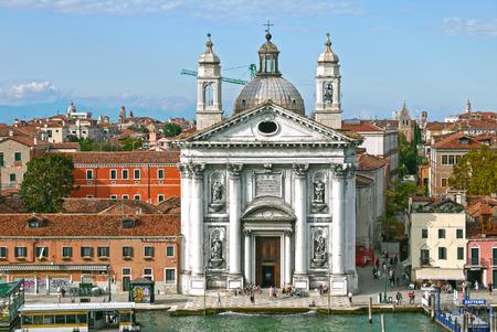 サンタ ・ マリア ・ デル ・ ロザリオ (ジェスアーティ) ヴェネツィアの教会です。イタリア。