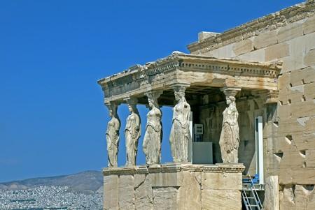 Erechtheum, Athens. GREECE.