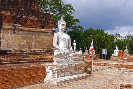Images Buddha in Ayutthaya, THAILAND.