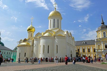 Trinity Sergius Lavra in Sergiev Posad, RUSSIA.