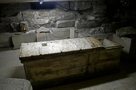 lazarus: Tombs of Saint Lazarus, Larnaca, Cyprus.