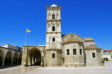 lazarus: Church of Saint Lazarus, Larnaca, Cyprus. Stock Photo