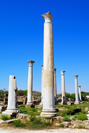 Salamis Ancient City ruins, Famagusta. NORTH CYPRUS.