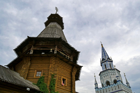 Izmailovo Kremlin in Moscow, Russia.