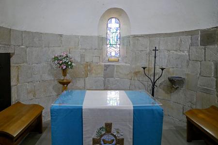 セント ・ マーガレット教会堂エディンバラのインテリア。スコットランド。 報道画像