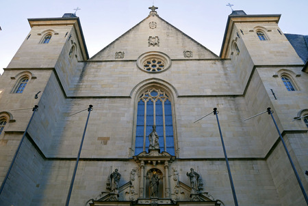 Notre Dame cathedral of Luxembourg.