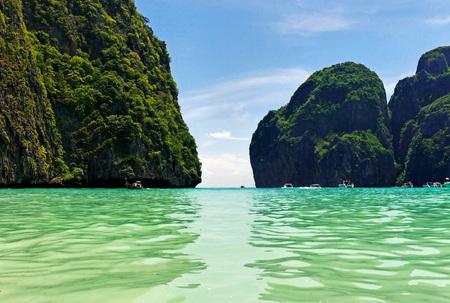 Maya Bay, Phi Phi island, Thailand.