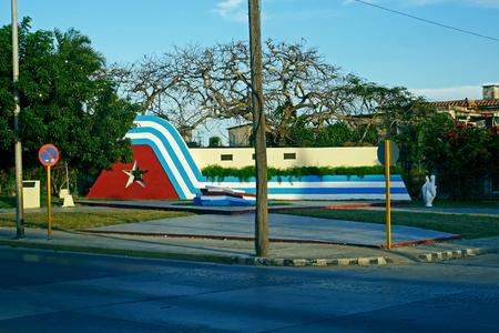 Town of Varadero, Cuba. 写真素材