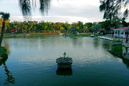 Josone Park, Varadero, Cuba. 写真素材