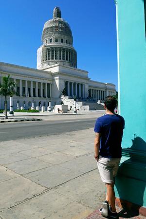 The Capitol in Havana, Cuba. 写真素材