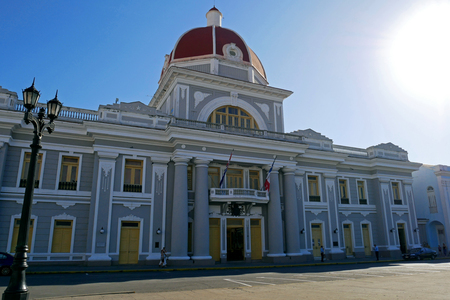 Municipal Palace, City Hall in Cienfuegos, Cuba.