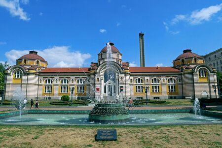 Central Mineral Bath in Sofia, Bulgaria.