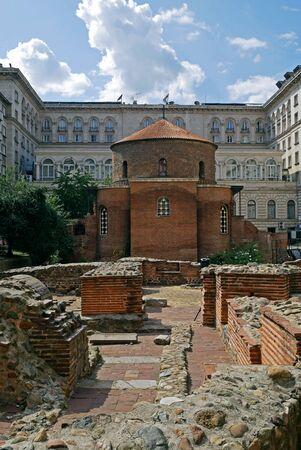 Saint George church, oldest church in Sofia city, Bulgaria.