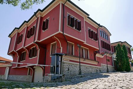 Old House in Plovdiv, Bulgaria. European Capital of Culture in 2019.