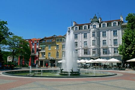 Center of Plovdiv, Bulgaria. Plovdiv is the European Capital of Culture 2019.