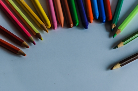 waxes: Different colors to do art and to draw