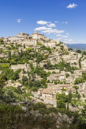 gordes: The Village of Gordes in Provence, France