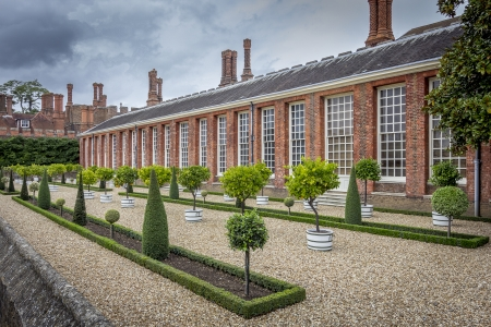 Hampton Court Palace Orangery near London