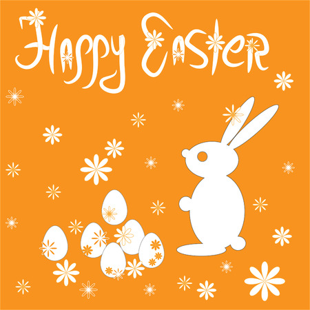 Easter Eggs with bunny Stock Vector - 6346904