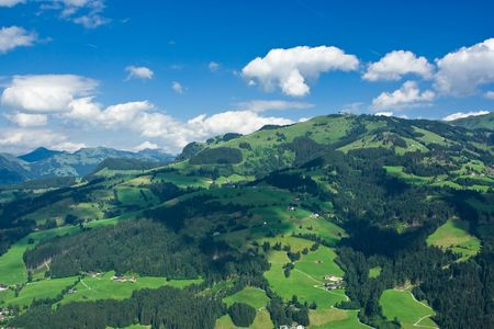 Beautiful landscape from Tyrol, Austria photo
