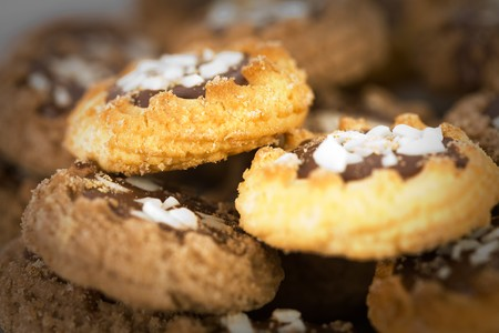Close up of sweet cookies Stock Photo - 4465740