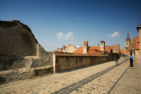 Sibiu, a beautiful Romanian city, the cultural capital of Europe in 2007 Stock Photo - 4831989