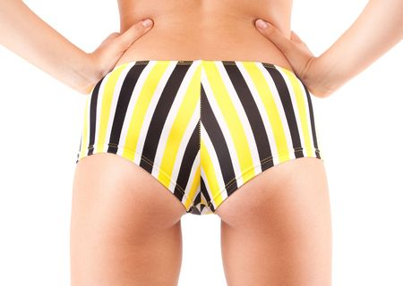 Young woman bottom, in swimwear photo