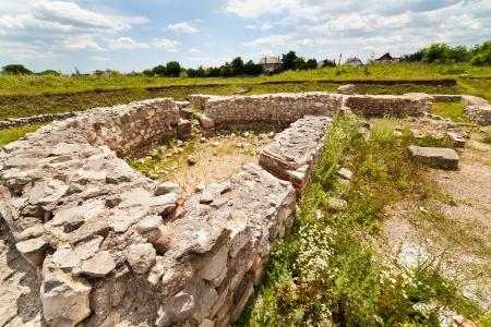 Archaeological site of Potaissa Castra of 5th Roman Legion at Turda, Romania Stock Photo - 15662917
