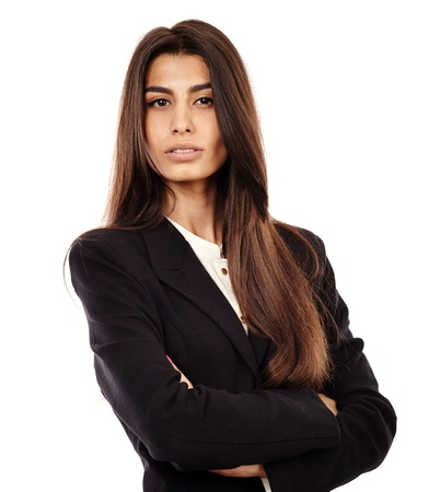 Closeup of a succesful arab businesswoman with her arms folded Stock Photo - 20245038