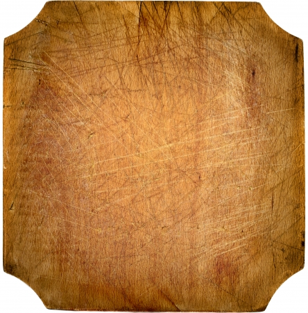 chopping board: Worn out kitchen chopping wooden board with copyspace