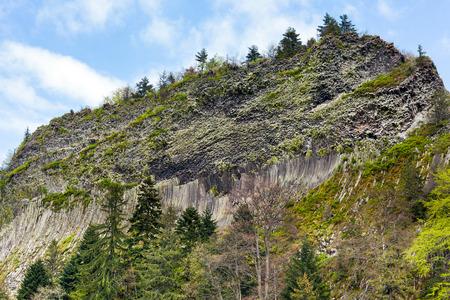 phenomenon: Detunatele massif from Romania, unique geologic phenomenon Stock Photo
