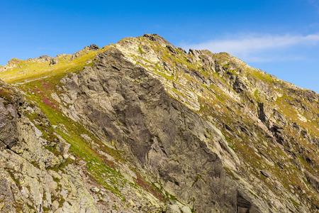 fagaras: Vista sulle spettacolari montagne di Fagaras in Romania