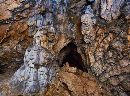 large formation: Interior of an old cave with beautiful speleothems