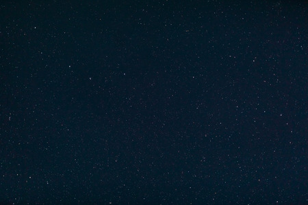 starlit sky: Background image of stars at night on the clear sky