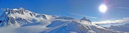 plateau: panorama: Cervino Plateau Ros�, 340 m s.l.m.