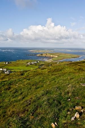 Landscape in Dingle Peninsula, county Kerry, Ireland photo
