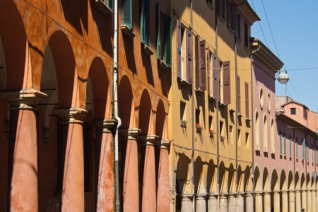 bologna: One of the thousands of porticoes of Bologna