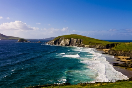 Dunmore Head in Dingle Peninsula  County Kerry, Ireland