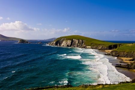 Dunmore Head in Dingle Peninsula  County Kerry, Ireland Reklamní fotografie - 18627896