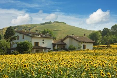 emilia romagna: view of emilia romagna - italy