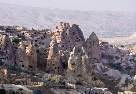 goreme: Cave city in Cappadocia, goreme,  Turkey