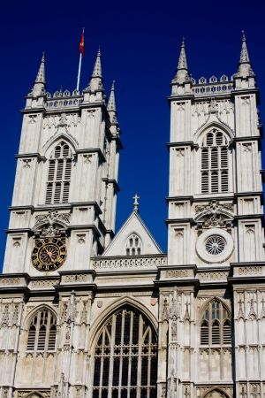 Westminster Abbey Front Facade and Towers photo