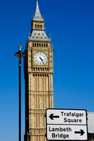Close up image of Big Ben photo