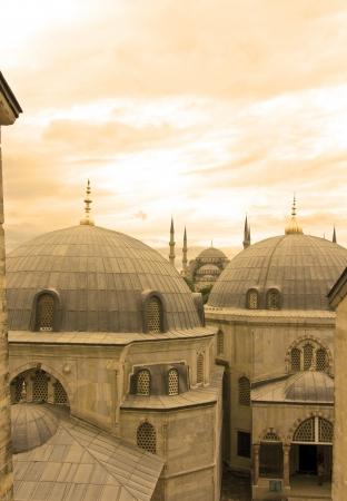 aya: view from Aya Sofya Istanbul, Turkey