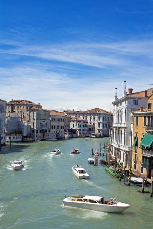 rialto bridge: view of venice, italy - europe