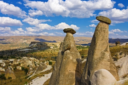 goreme: view of cappadocia, goreme  - turkey