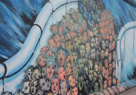 Ostseite Galerie der Berliner Mauer